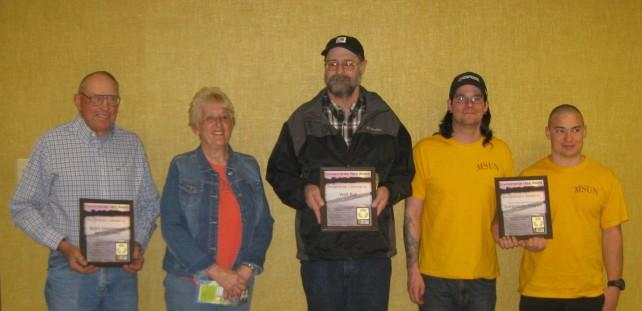 Bob's Greenhouse (Bob and Kathy Doney), Walt Ball (Eagles Manor), MSU-Northern's Sustainability Program (Joseph Vernon and Jedrick Schatz)